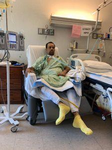 Hispano clama por un trasplante de intestino que le salve la vida