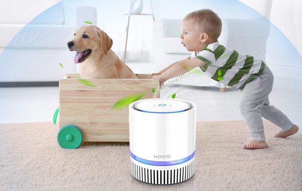 5 purificadores de aire tamaño compacto para tener en tu habitación y otros espacios pequeños