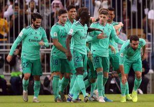 Real Madrid vence al Valencia y ya es finalista de la Supercopa