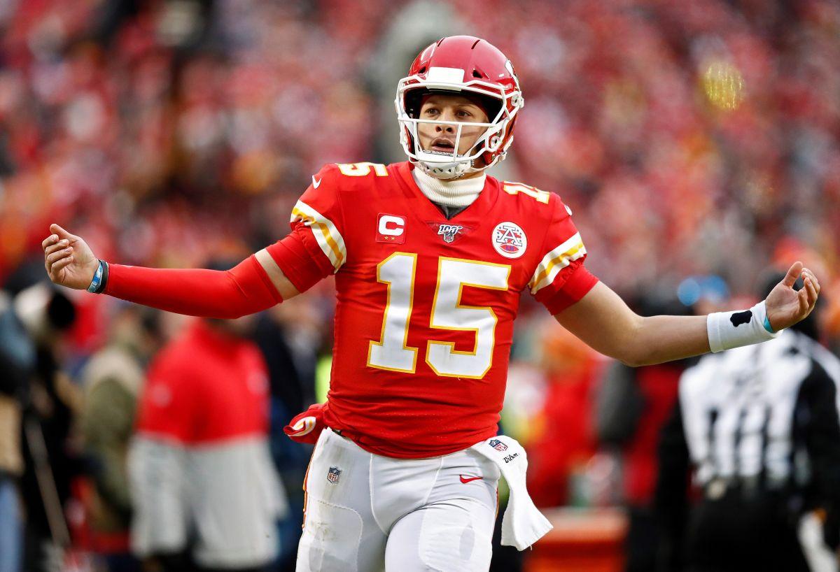 Patrick Mahomes, a un triunfo de su primer Super Bowl con Chiefs.