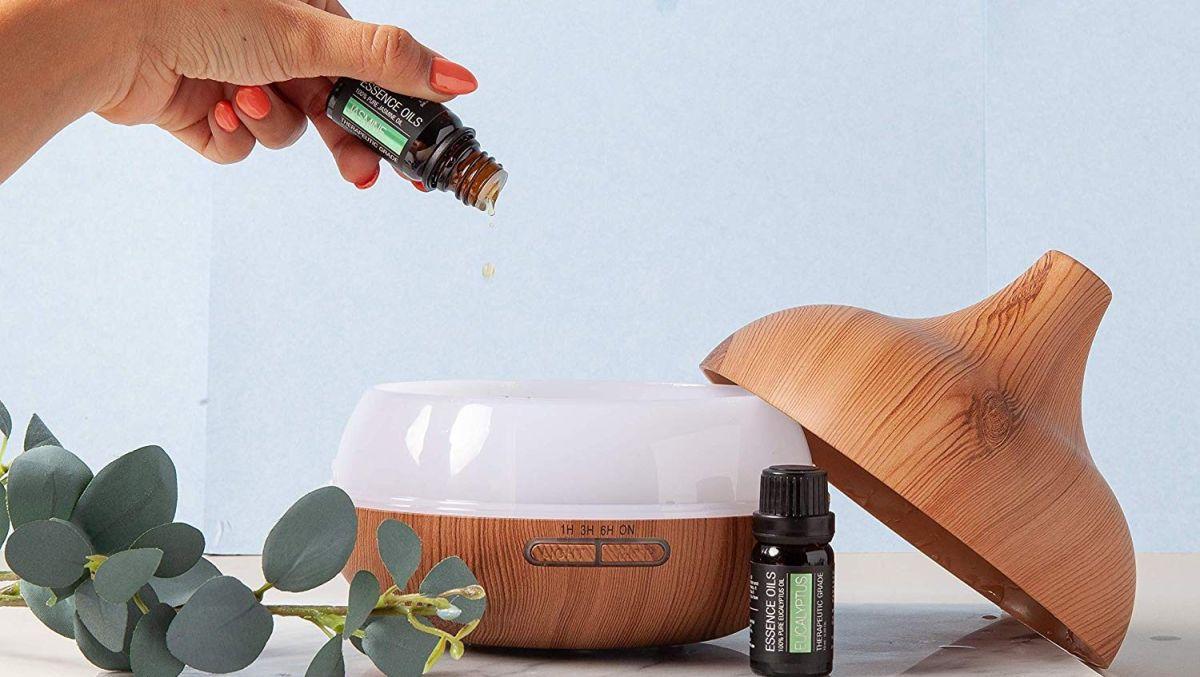 4 disfusores de aceites esenciales que te ayudarán a relajarte luego de un día largo de trabajo