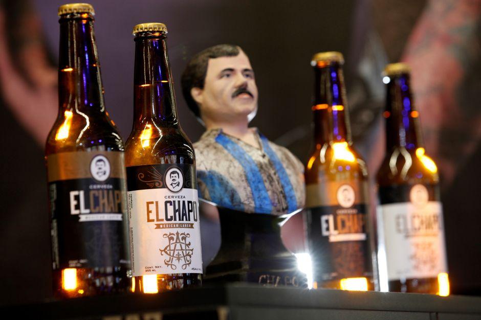 Ya se vende en México la cerveza dedicada al Chapo Guzmán