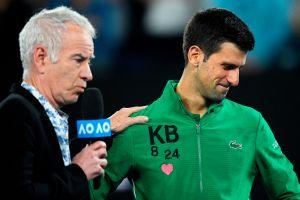 ¡Estalló en llanto! Novak Djokovic homenajeó a Kobe Bryant en el Australian Open