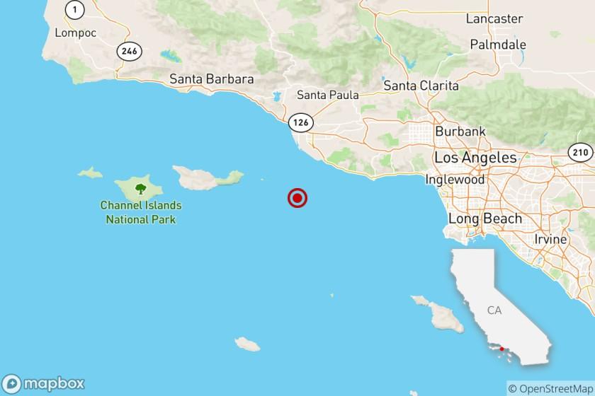 Sismo sacude de madrugada condados californianos de Los Ángeles y Ventura