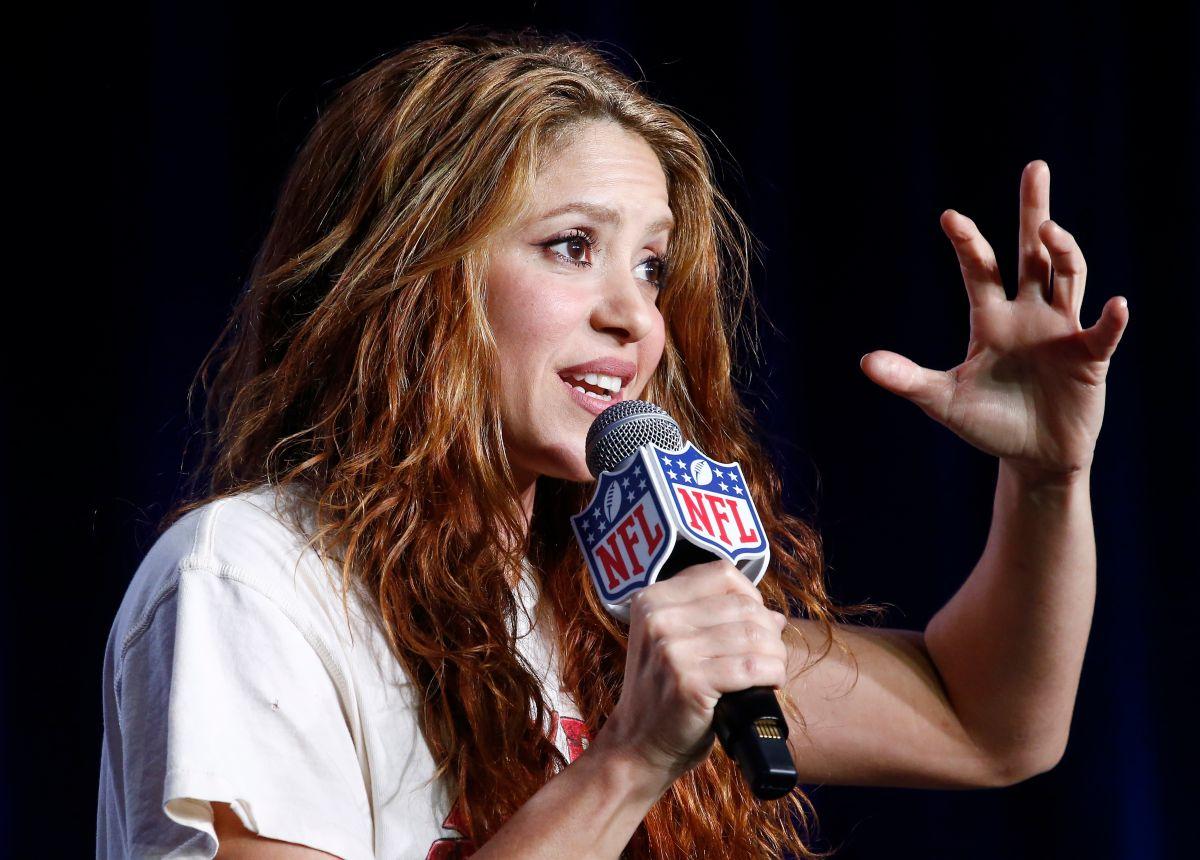 Shakira derrochó gracia, pero no conocimiento de los deportes.