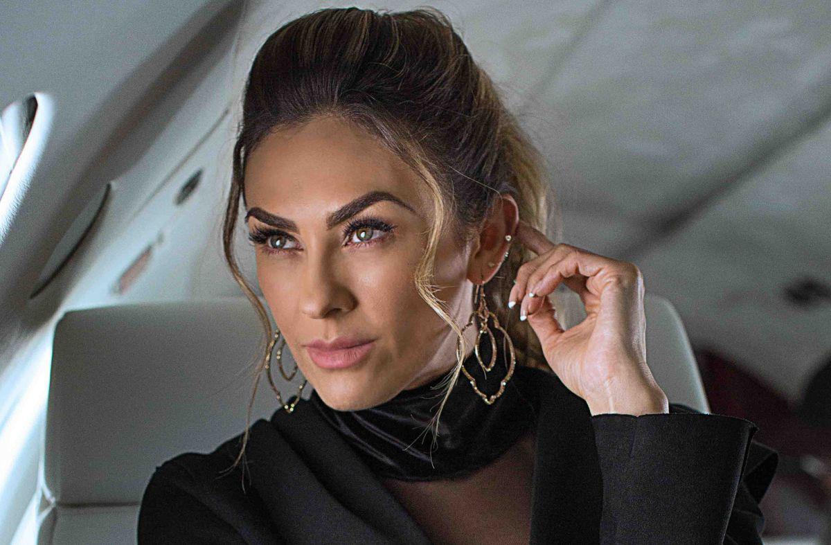 """Aracely Arámbula, protagonista de """"La Doña""""."""