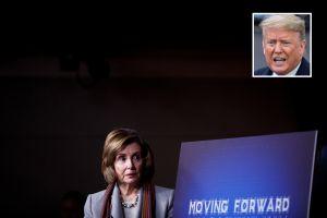 Pelosi y otros demócratas presionan a Trump para que vuelva a negociaciones previas al 'impeachment'