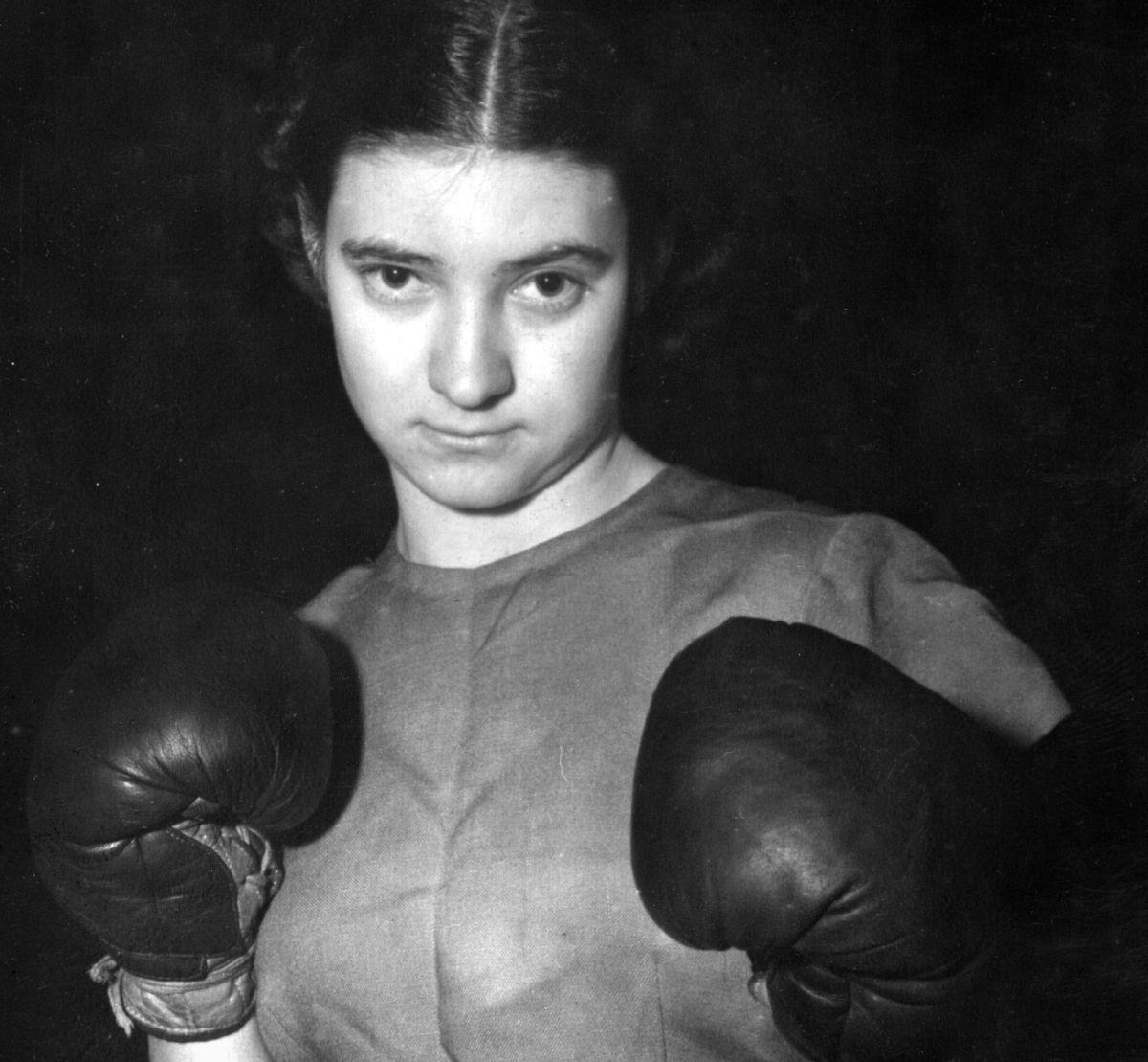Barbara Buttrick en una fotografía de 1949.