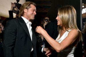 La reacción de Brad Pitt cuando le preguntaron por su encuentro con Jennifer Aniston