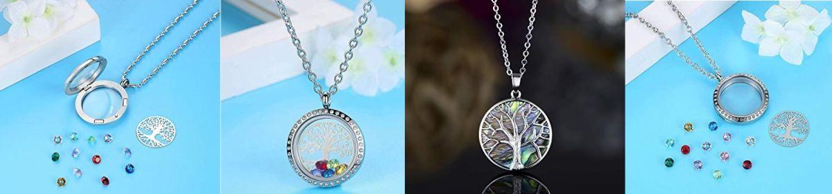 5 piezas de joyería con el Árbol de la Vida para atraer la energía positiva