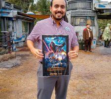 Conoce al joven hispano que ayudó a crear la nueva atracción de Disney, 'Rise of the Resistance'