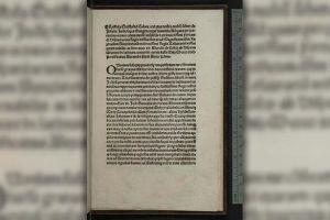 Recuperan en EEUU una carta de Cristóbal Colón robada hace más de 30 años en Italia