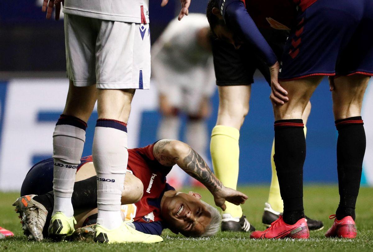 """Del cielo al infierno: """"Chimy"""" Ávila estaba a un paso del Barça, ahora estará seis meses fuera"""