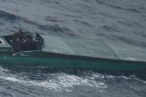 En video, así rastrearon por dos días una lancha con casi 2 toneladas de cocaína