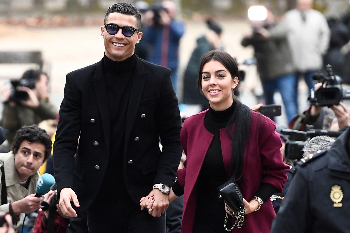 Georgina y Cristiano hacen una pareja hermosa.