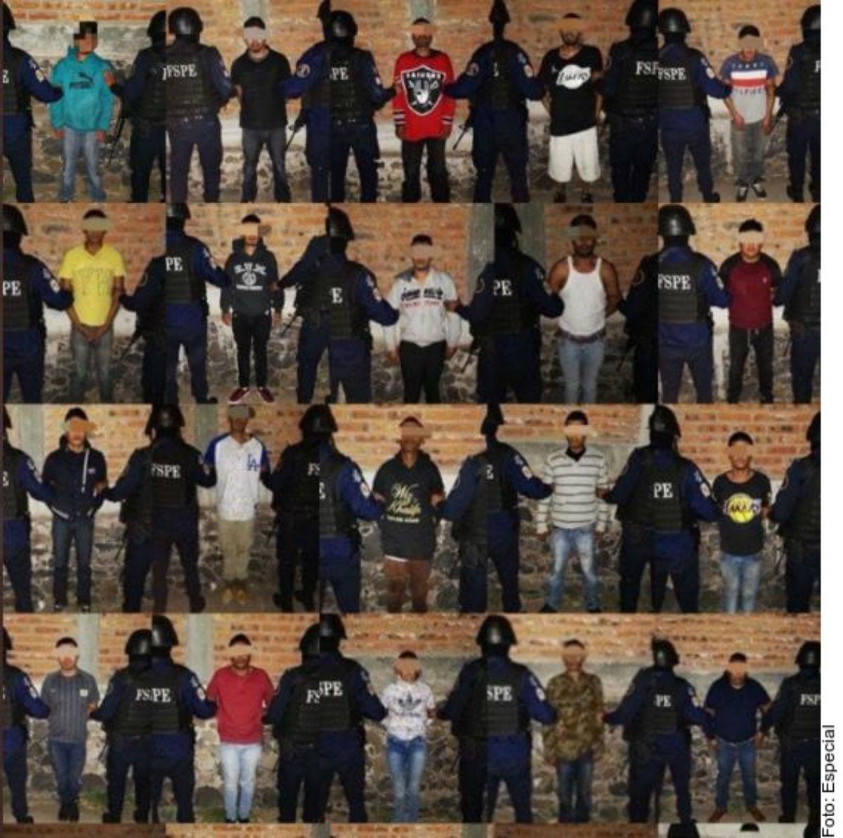 ¡Golpe al Marro! detienen a 29 peligrosos sicarios que mataban para el líder huachicolero