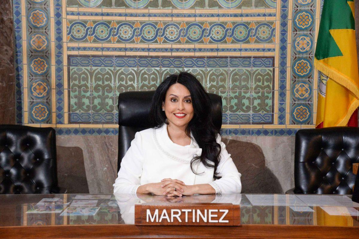 La concejal Nury Martinez fue una de las que impulsó la creación de una división de respuesta no armada.