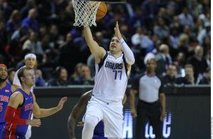 ¡Otro día en la oficina! Luka Doncic hizo trizas un récord más en la NBA