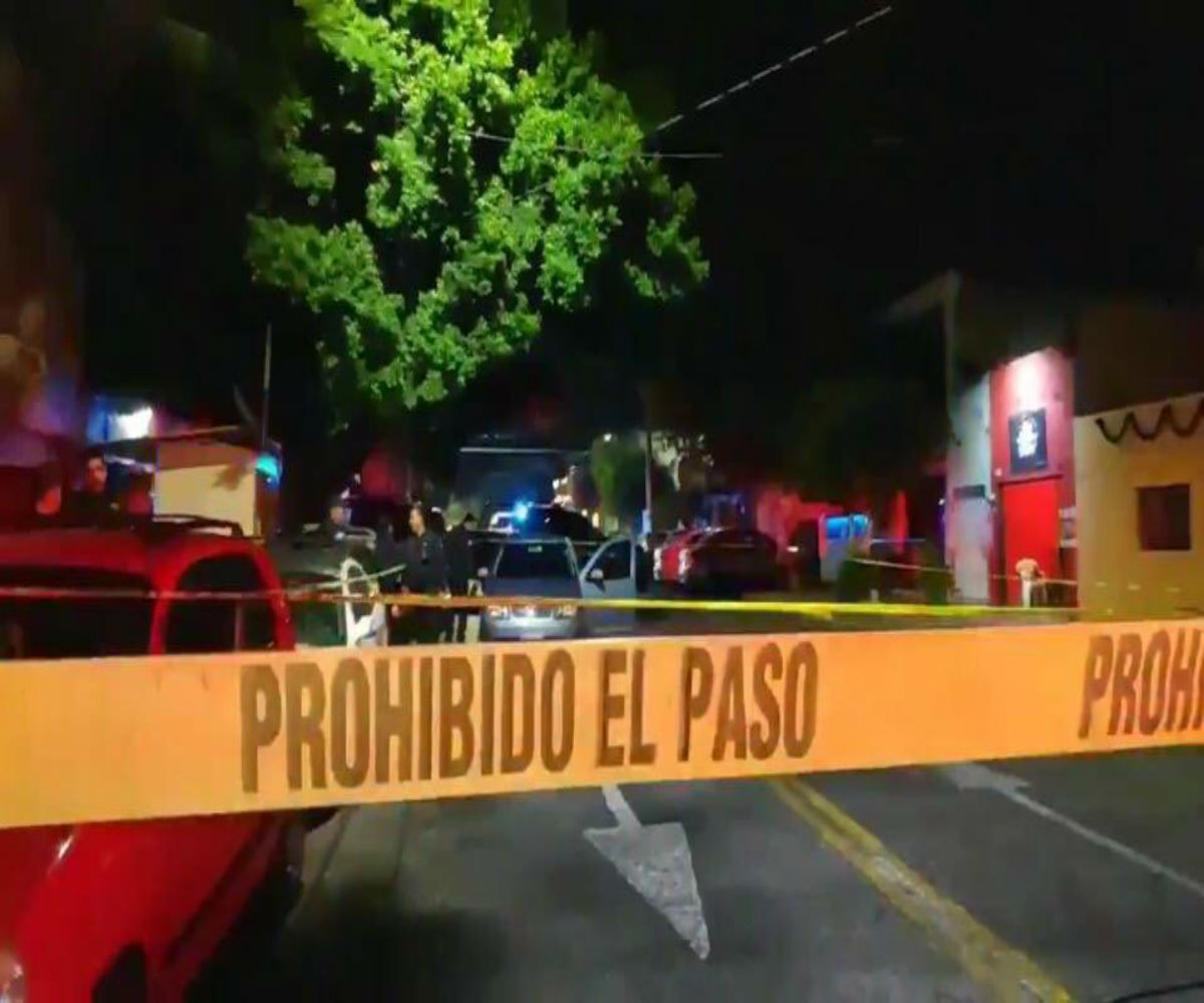 Escena del crimen México