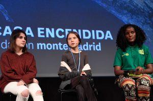 Activista denuncia racismo después de un evento con Greta Thunberg