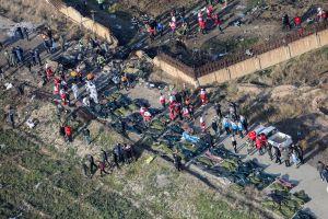 Irán reconoce que derribó el avión de Ucrania en el que murieron 176 pasajeros