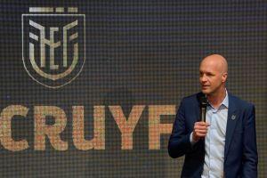 ¡Por fin es oficial! Jordi Cruyff es el nuevo DT de la Selección de Ecuador