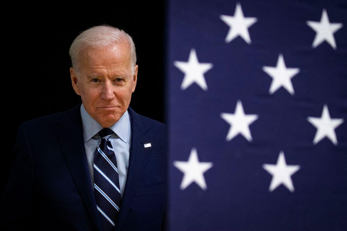 Joe Biden en campaña.