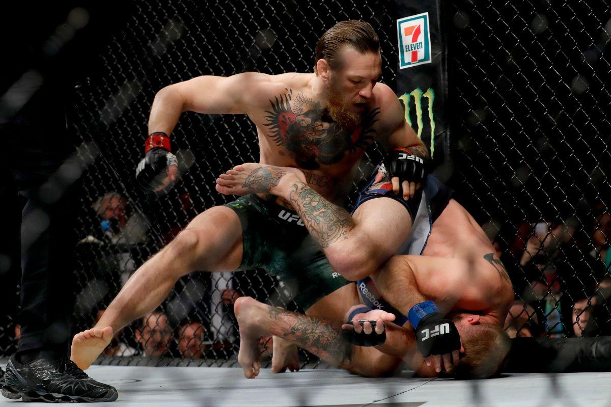¿McGregor brillando como luchador de la WWE?… recomendación de Caín Velásquez