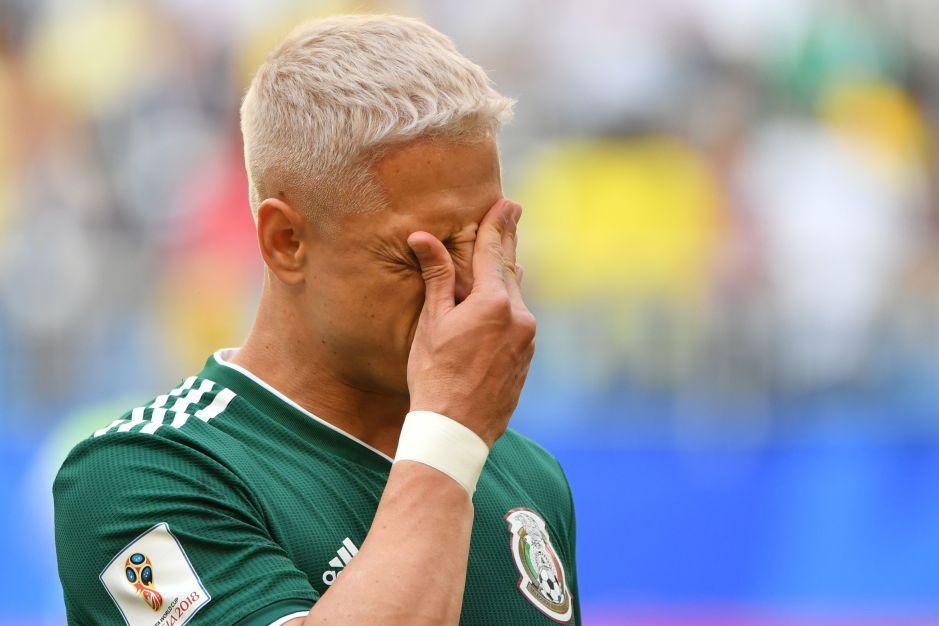 Es el máximo goleador de la Selección Mexicana, pero Chicharito Hernández no entra en los planes del 'Tata' Martino