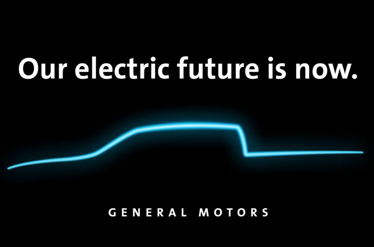 La pick-up eléctrica de GM llegará en 2021