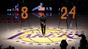 Así fue el emotivo homenaje a Kobe en el Staples Center de Los Lakers