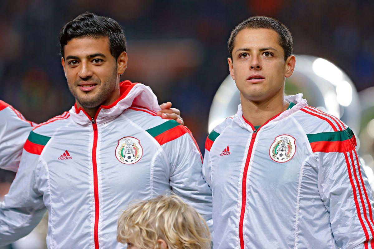 Vela y Chicharito son canteranos del Guadalajara.