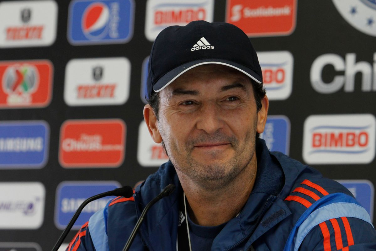 'Chepo' de la Torre, entrenador del Toluca.