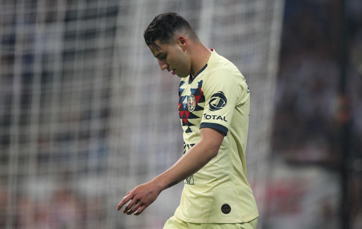 ¡No olvidan! La afición del América abuchea a Jorge Sánchez en el partido contra Tigres