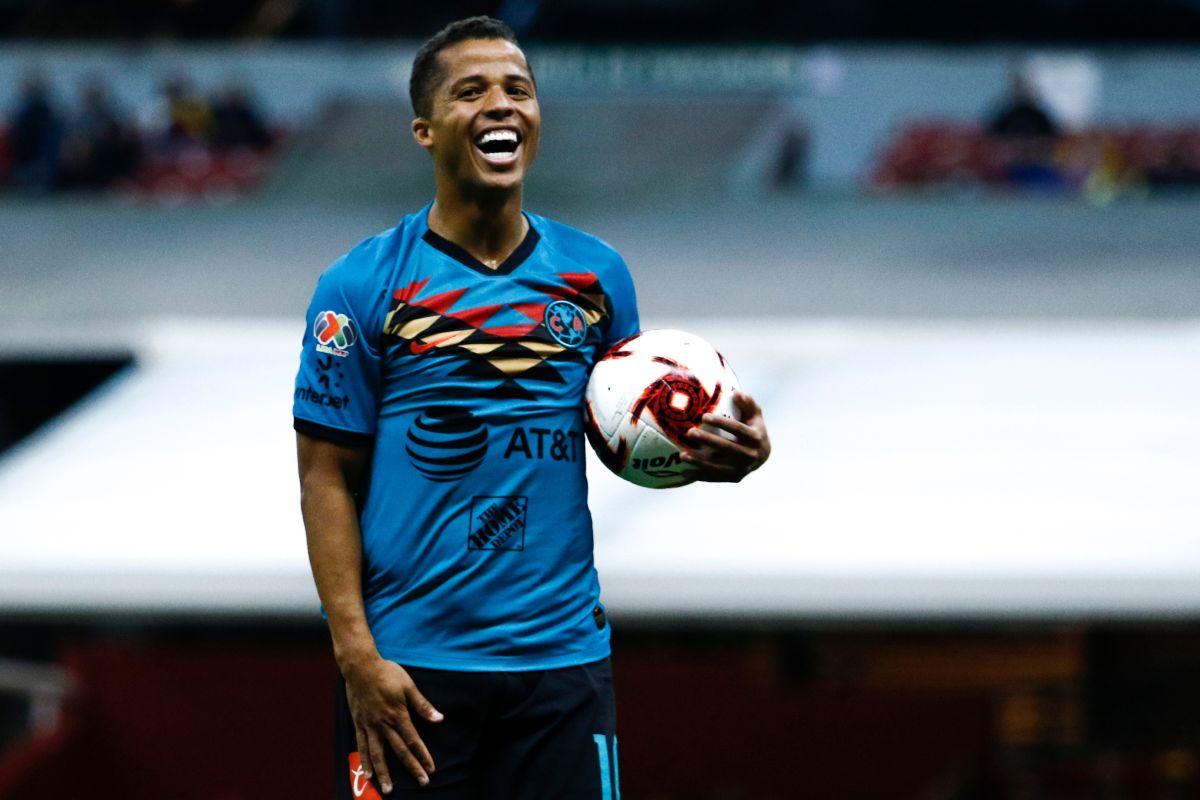 ¡Está de regreso! Giovani dos Santos fue nombrado jugador del partido en el debut del América
