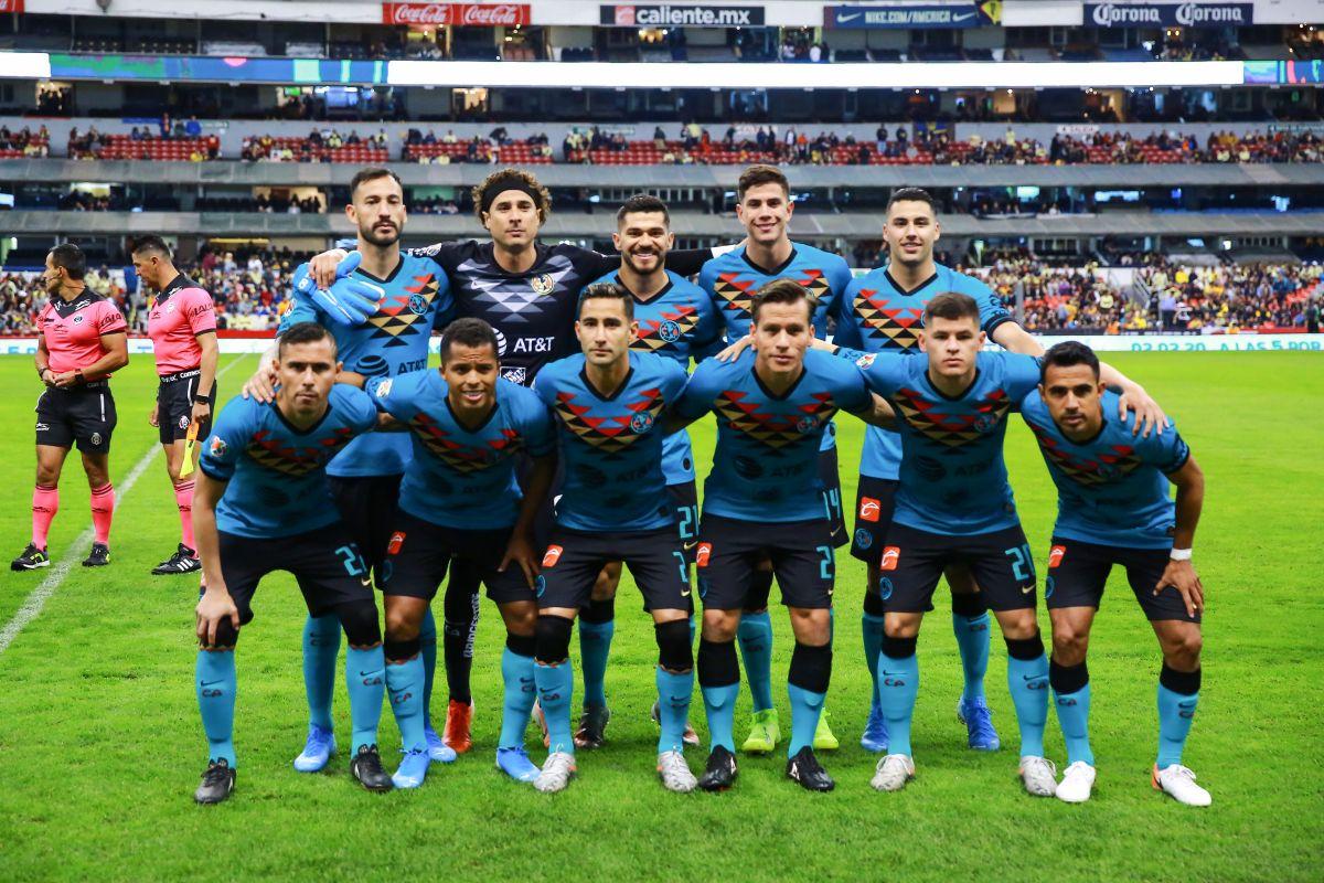 ¿Equipo de extranjeros? El América debuta en el Clausura 2020 con 9 mexicanos en su alineación