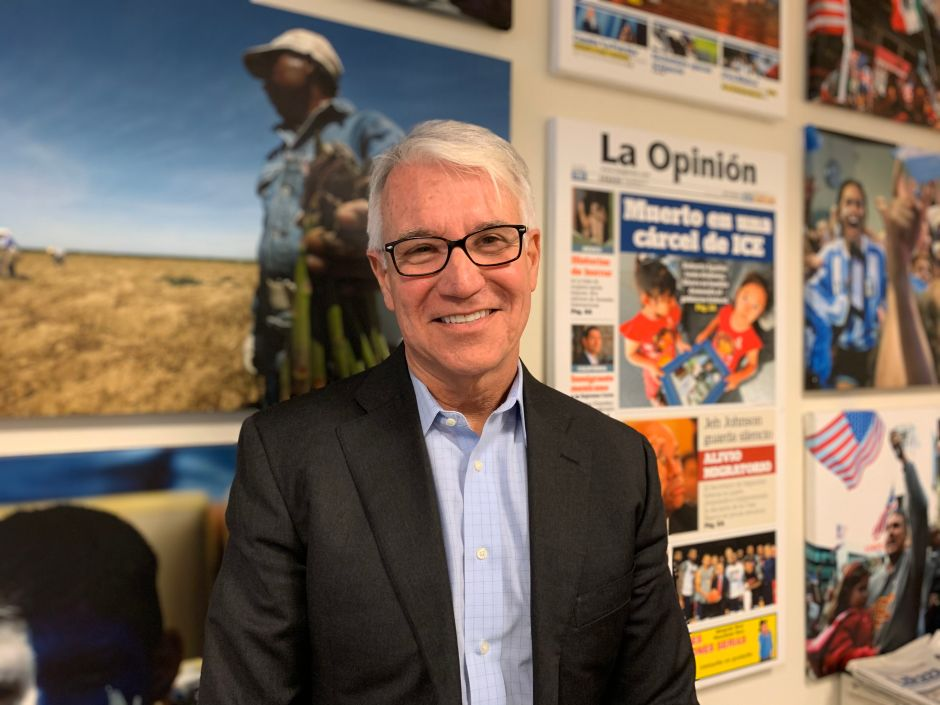 George Gascón: 'No me apoyen por ser latino sino por lo que represento'
