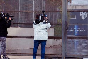 Después de escándalo sexual, ahora policía registra oficinas del Málaga