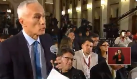 """""""Eso sí calienta"""", dijo AMLO a Jorge Ramos, quien lo cuestionó sobre la inseguridad"""