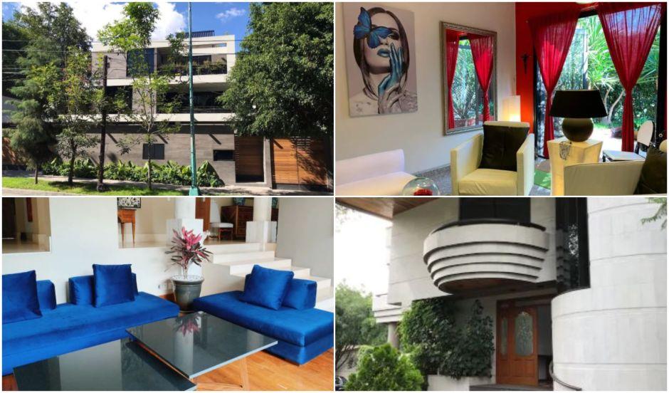5 espectaculares residencias que se alquilan por Airbnb en Lomas de Chapultepec