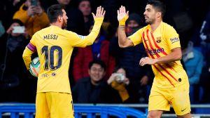 Por encima de Messi; Luis Suárez mejor jugador de La Liga