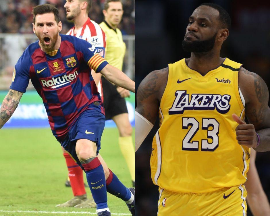 Kobe Bryant comparó a LeBron James con Lionel Messi