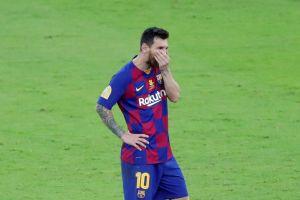 Si esto no preocupa ¿entonces qué? Leo Messi lleva un solo gol desde que llegó al banquillo Quique Setién