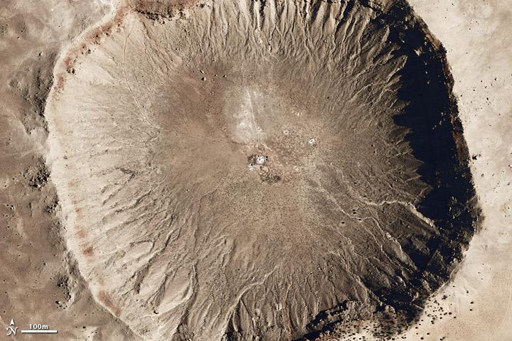 Descubren el cráter de un meteorito que se estrelló en la Tierra hace 800 mil años