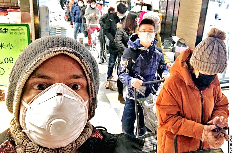 Mexicano clama ayuda a AMLO y a EEUU para salir de Wuhan, China