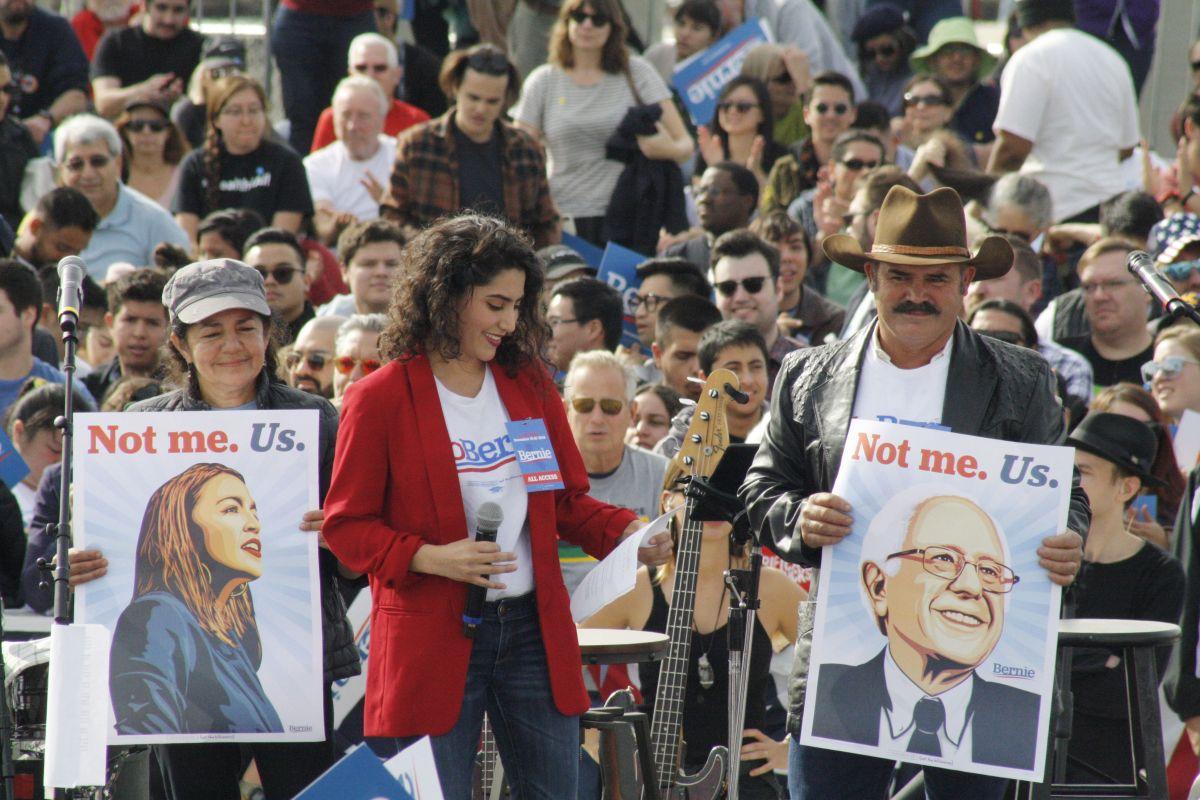 ¿Por qué los latinos apoyan al senador Bernie Sanders?