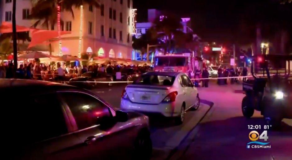 Un muerto y un policía apuñalado en la zona más turística de Miami Beach