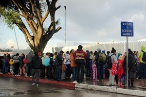 La mayoría de inmigrantes en los albergues de Tijuana son mexicanos