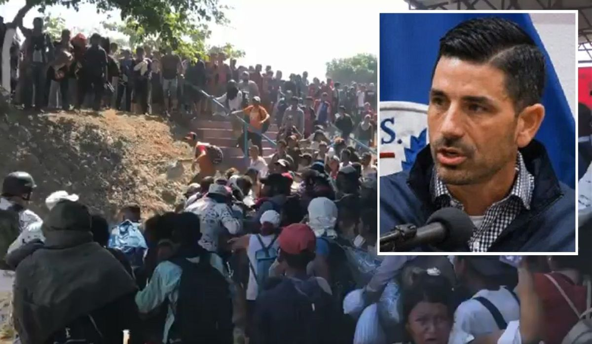 El secretario interino de Seguridad Nacional, Chad Wolf, respaldó la política migratoria mexicana.