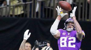Vikings da la campanada y derrota a Saints